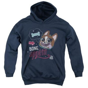 Littlest Pet Shop Kids Hoodie Bone Appetit Navy Hoody