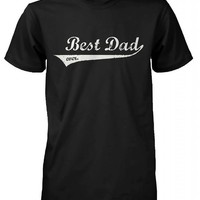 365 In Love Best Dad Ever Swash Style T-Shirt - Father's Day Gift Idea