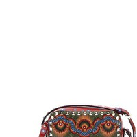 Valentino 'Rockstud - Enchanted Wonderland' Calfskin Leather Camera Crossbody Bag | Nordstrom