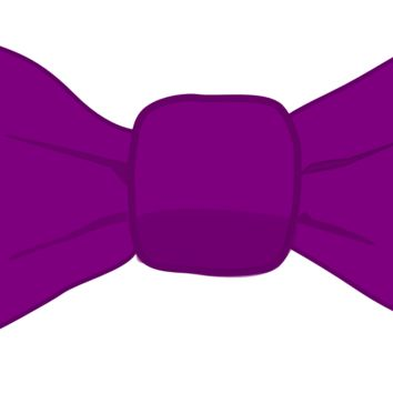 Relay For Life™ Purple Bow Tie