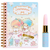 Buy Sanrio Little Twin Stars Lipstick Pen & Spiral Notebook Set at ARTBOX