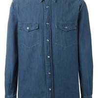 Aspesi Western Denim Shirt - Nike - Via Verdi - Farfetch.com