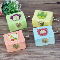 Cartoons Animal Box Wooden Music Creative Gifts Accessory Box [6282818566]