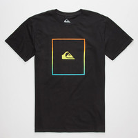 Quiksilver Shut Up & Surf Mens T-Shirt Black  In Sizes