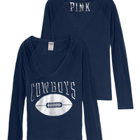 Dallas Cowboys Long Sleeve Tee - PINK - Victoria's Secret