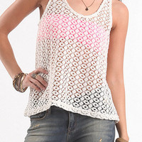 Nollie Crochet Racer Shine Tank at PacSun.com