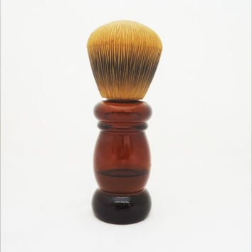 """Vintage Avon Barber Shop Brush, Avon After Shave Lotion Bottle, """"Wild Country"""" Lotion"""