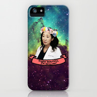 Greys Anatomy: Screw Beautiful, I'm Brilliant iPhone & iPod Case by drmedusagrey
