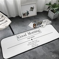 GOOD MORNING Floor Indoor/Outdoor MAT