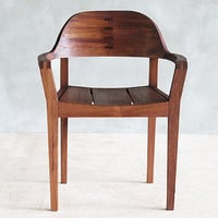 Xiloa Chair by Masaya and Company sustainbly sourced Cedro Macho, Nicaraguan Mahogany