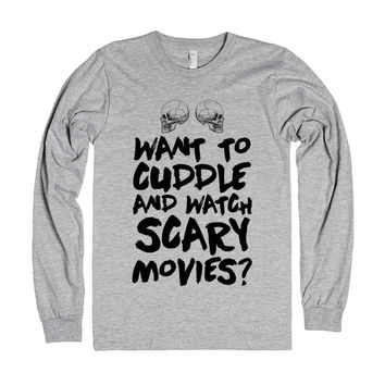 Cuddles And Scary Movies