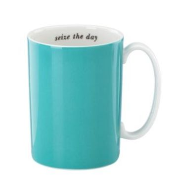 say the word seize the day mug - kate spade new york