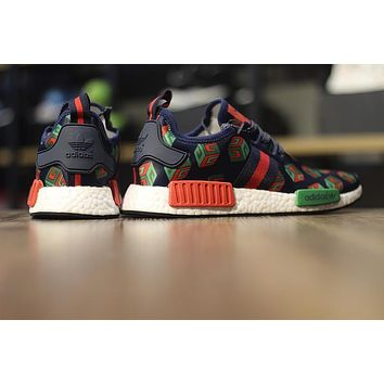 adidas NMD Custom R_1 ¡°Gucci¡± BA7258 Men Running Sneaker