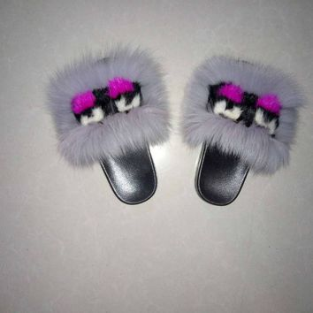 Monster Fur Slippers