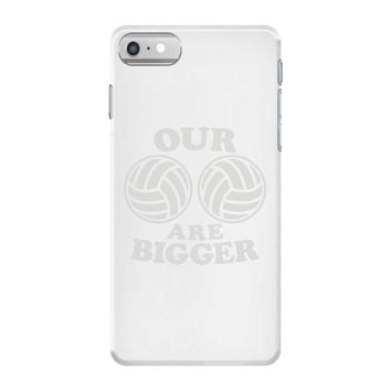 our volleyballs are bigger iPhone 7 Case