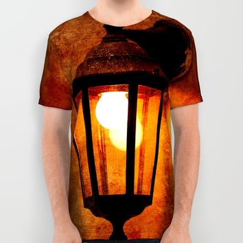 The Age Of Electricity All Over Print Shirt by Digital2real