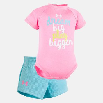 Girls' Newborn UA Dream Big Short Set | Under Armour US