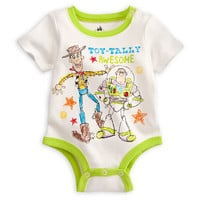 Woody and Buzz Disney Cuddly Bodysuit for Baby | Disney Store