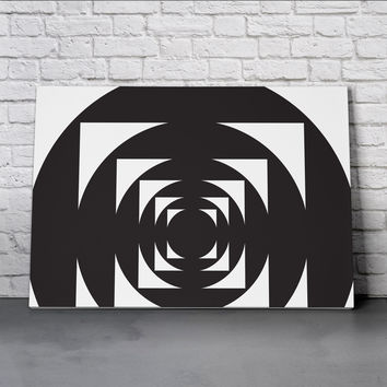 Canvas Wall Art Print - This is not a Circle 4 by Alddo Fernandez
