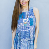 Quilted Patchwork Dress