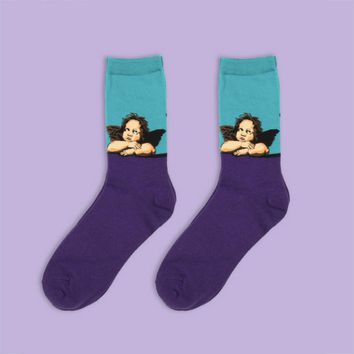 Rapheal's Angel Sock
