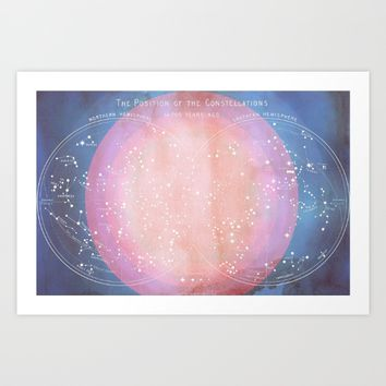Constellation Dreams Art Print by Starseed Designs