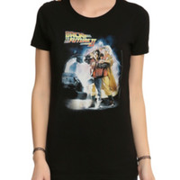 Back To The Future Part II Poster Girls T-Shirt