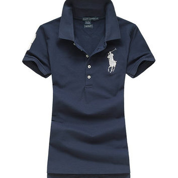 Trendsetter POLO Women Cotton Summer Tee T-shirt