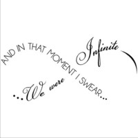 And In That Moment I Swear We Were Infinite -The Perks of Being a Wallflower