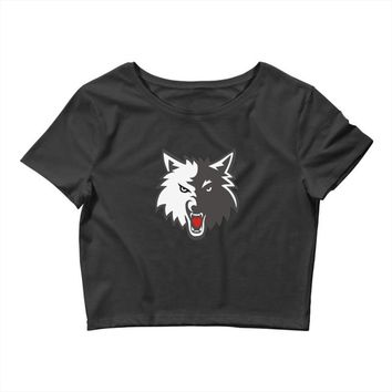KING OF THE WOLF Crop Top