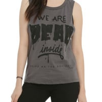 Bring Me The Horizon We Are Dead Inside Girls Muscle Top