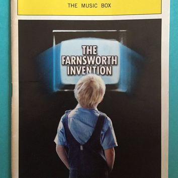 The Farnsworth Invention Playbill