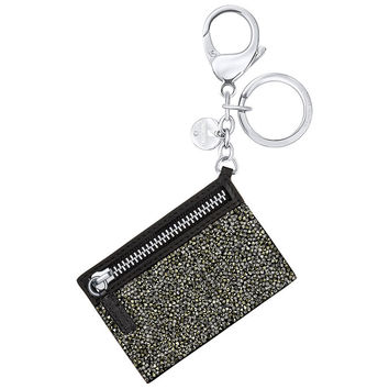 Swarovski Golden Crystal Rock GLAM ROCK BAG Charm Keychain #5271857