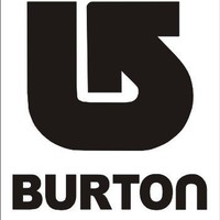 Burton 7x6 Decal/Sticker snowboarding