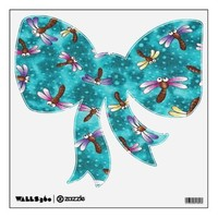 Dragonfly Bug Eyes Wall Decals from Zazzle.com