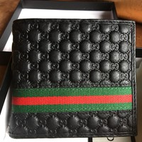 Gucci Men's Leather Wallet New