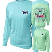 Penn State Women's Legacy Bow Long Sleeve | Tshirts > WOMENS > LONG SLEEVE