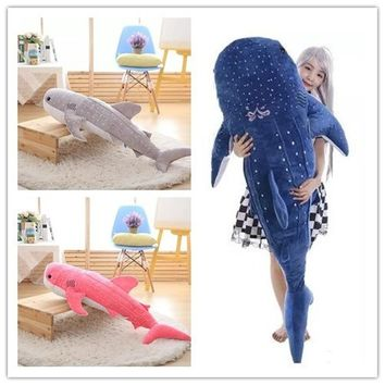 Baby Cute Super Soft Plush Stuffed Whale Shark Dolphin Pillow Dolls Toys Kids Chilren Lovers Gifts