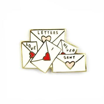 Love Letters Pin