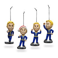 Fallout 4 Vault Boy Holiday Ornaments