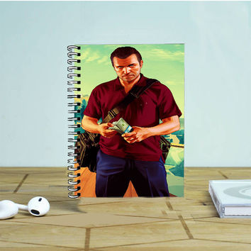 GTA V Michael Photo Notebook Auroid