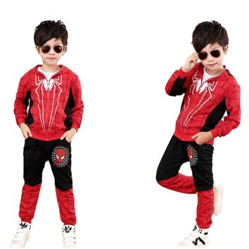 Ainiel Blue Black Spider Man Cosplay Costume Suit Spider-man Costumes Children Kids For Boy And Girl