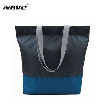 1 Piece fabric bags recycle PET eco reusable shopping bag Foldable Grocery Sac opvouwbare tas folding shopping tote