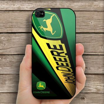 John Deere For IPhone 4/4S case Hard Cover Plastic