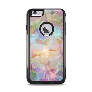 The Abstract Geometric Subtle Colored Connect Blocks Apple iPhone 6 Plus Otterbox Commuter Case Skin Set
