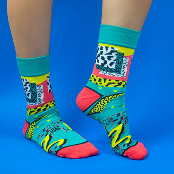 Pattern shape socks, crazy socks, lightning socks, colorful socks for women, leopard socks, women's argyle socks, funky women socks, socks