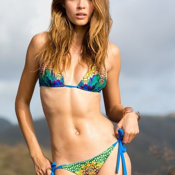 Sauvage Jade Mountain Royal Blue Bikini Set