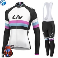 Brand New Cycling jerseys Woman MTB Wear LIV Jerseys bike Cycling clothing/long sleeve Bicycle Wear Bike Clothing