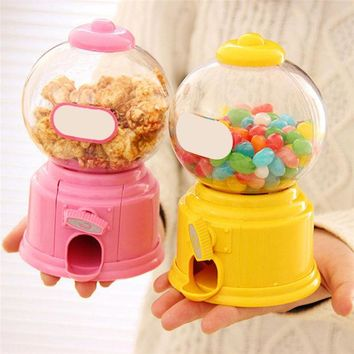 ac NOOW2 LS4G Cute Sweets Mini Candy Machine Bubble Gumball Dispenser Coin Bank Kids Toy Children Gift