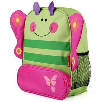 Butterfly Monkey Dog Lady Bug Dinosaur Kids Preschool Kindergarden bag school backpack